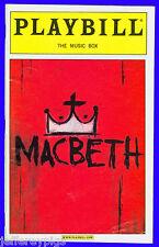Playbill + Macbeth + Opening Night + Kelsey Grammer , Ty Burrell , Modern Family
