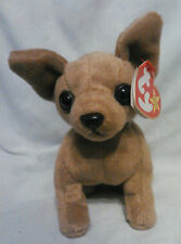 Tiny the Chihuahua Ty Beanie Baby, Rare Misspelled Tag, Excellent Condition!!!