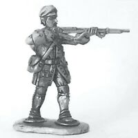French Marine, Snowshoes, Cap Jacket Firing FIW 28mm Unpainted Wargame