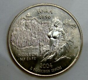 """Iowa - Nibble on My Ears - Adult Themed """"Sexy Quarter"""""""