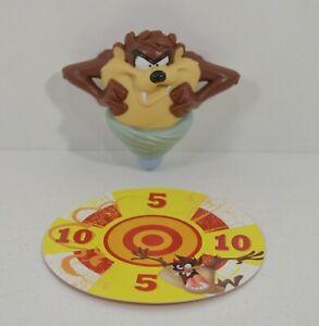 "RARE 2010 Taz Spinning Top 3"" McDonald's EUROPE Action Figure Looney Tunes"
