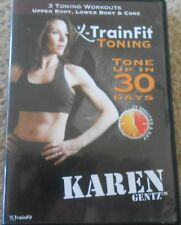 X-Train Fit Toning Workout DVD Upper Lower Body Fitness Exercise Strength