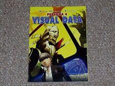 Shin Megami Tensei Persona 4 Visual Data Promo Art Book