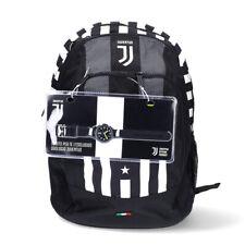 Juventus Zaino Advanced Scuola 2020/21 Seven Due Scomparti + Orologio Lowell