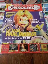 Magazine jeux vidéo:Consoles + N°103 Aout 2000 [FINAL FANTASY IX,POKEMON] Fr