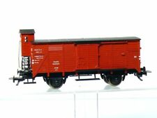 Fleischmann 5355 H0  Güterwagen G 10 der DB mit Bremserhaus wie neu OVP