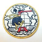 RARE US Air Force Vietnam Era Military Patch Black Bird Flying A Patches - 104015
