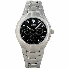 Casio Edifice EF304D-1AV Men's Stainless Steel Multi Function Black Dial Watch