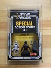 Star Wars Villain Special Action Figure Set Target Darth Vader Stormtrooper Mint