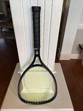 Wilson Sledge Hammer 3.8 Tennis Racquet 110 sq. in. 4 3/8 Grip & New Strings
