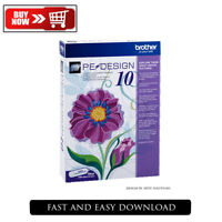 Brother PE Design 10 Embroidery Lifetime Activation Genuine Software 2020 free