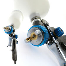 Scratch Doctor LVLP 1.4 Gravity Feed Spray Paint Gun More Efficient than HVLP