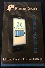 powerskin battery case motorola droid x