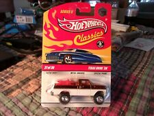Hot Wheels Classics Chase Texas Drive Em Orange Rubber Tires Series 5