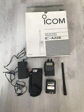 Icom IC-A22E VHF Air Band Transceiver