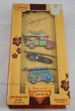 Disney 2015 D23 Expo Exclusive Disney Cars Artist Series 3 Pin Set LE700 Mater
