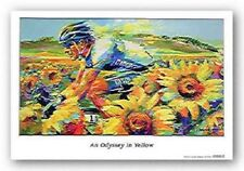 An Odyssey In Yellow Malcolm Farley Art Print 25x14