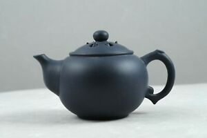 1990s Chinese yixing Green Clay Lotus Seeds Teapot Factory #1 墨綠泥蓮子 王定娟