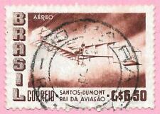 BRESIL – BRAZIL - Poste aérienne - 1956 - Numéro Y&T PA 72  oblitéré, used