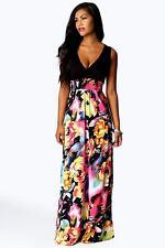 Casual Sleeveless V Neck Dresses Size Petite for Women