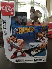 WWE Rumblers Apptivity Cm Punk Figure Mattel 2012