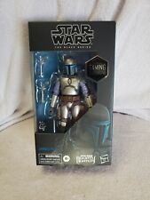 Stars Wars The Black Series Jango Fett, Bounty Hunter, Figure, Game Stop ,New