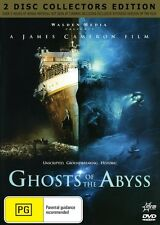 GHOSTS OF THE ABYSS - 2 DISC SET -JAMES CAMERON NEW & SEALED REGION 4 DVDS
