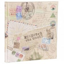 HENZO Fotoalbum Discover 60 Seiten Jumboalbum Album Urlaubsalbum Reisealbum NEU