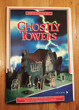 Ghostly Towers - POP-UP and PLAY SET - Two Spooky Plays - Vintage Pop Up Book