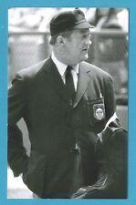 Nestor Chylak Vintage Baseball Umpire Postcard