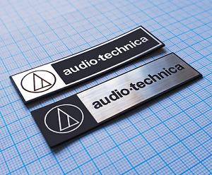 Audio Technica - Metallic Sticker Emblem Badge Set (2 pieces)