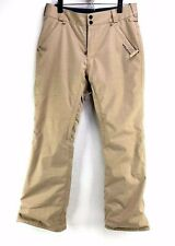 Volcom Frickin Modern Straight Fit Chino Snowboard Ski Pants Khaki Youth XL