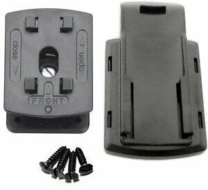 Für Garmin GPS Navi Geräte Halter Sockelhalter Halterung schrauben anschrauben