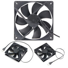USB Cooling Fan Silent Computer Case PC CPU DC 120 x120 x25mm Brushless Hot
