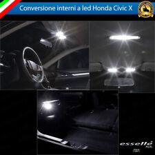 KIT LED INTERNI HONDA CIVIC X KIT DI CONVERSIONE COMPLETA CANBUS 6000K NO ERROR