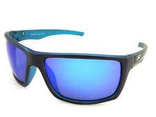 Dirty Dog polarisé Primp Lunettes de soleil noir satiné XTAL bleu/miroir bleu