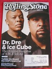 ROLLING STONE MAGAZINE AUGUST 2015 DR DRE ICE CUBE ORIGINAL N.W.A PINK FLOYD