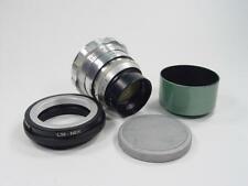 LOMO OKC PO3-3M f/2 50 Leica Zenit USSR Planar #736044 M39 Sony NEX E-mount