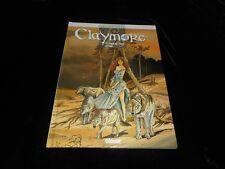 Ruellan / Ersel : Claymore 2 : Comme des loups affamés EO  Glénat 2000