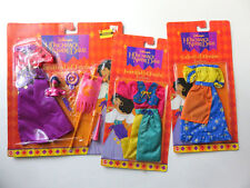 Disney Esmeralda Doll Clothes 3 Outfits Hunchback of Notre Dame Dresses NEW