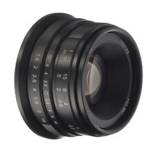 25mm F/1.8 Manual Focus Prime Lens APS-C for Sony E-mount ILCE-6000/6500/6300 A7