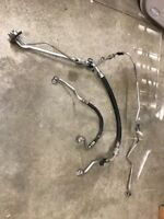 05-12 ACURA RL AC A/C AIR CONDITIONER LINE HOSE PIPE TUBE OEM Complete Set