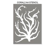 A4  CORAL. mask  * ART, Stencils,Masks,Templates, FREE POST