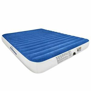 SoundAsleep Camping Series Air Mattress with Eco-Friendly PVC - Included Queen