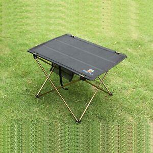 Folding Table Aluminum Outdoor Camping Portable Picnic Garden Camp Dining Desk