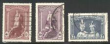 Australia #177-79 Used - 1948 High Values ($67)
