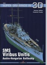 SMS Viribus Unitis Austro-Hungarian Battleship - Super Drawings in 3D - Kagero