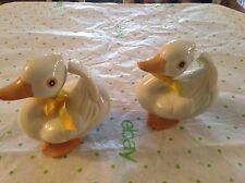 Homco porcelain duck figurine #1414