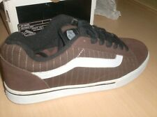 vans skateboard shoes no skool brown --  8 usa  new in original box surf skate