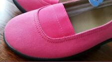 💕💕 HOMY PED women's watermelon pink fabric 'Delila' BALLET FLATS SHOES Size 9